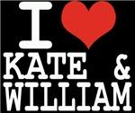 I LOVE KATE and WILLIAM