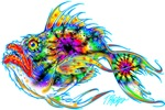 Multicolor and Tie Dye Mean Fish