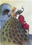 Peacock and Lady
