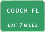 Couch (FL) Florida T-Shirts