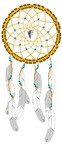 Dreamcatcher with Arrowhead and Turquoise