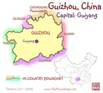 Guizhou, China mini Map