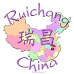 Ruichang Color Map, China