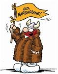 Go Barbarians!
