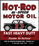 Vintage Hot Rod Motor Oil products