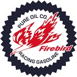 Pure Firebird Racing Gasoline vintage sign