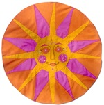 Embroidered Sun