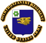 COA - 40th Infantry Regiment