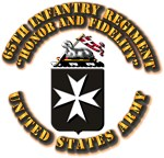 COA - Infantry - 65th Infantry Regiment