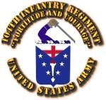 COA - Infantry - 104th Infantry Regiment