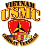 USMC - 3rd Marine Div - Vietnam w Ribbons