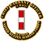 USMC - Chief Warrant Officer - CW3 - Retired