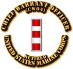 USMC - Chief Warrant Officer - CW4 - Retired