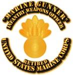 USMC - Marine Gunner - Retired