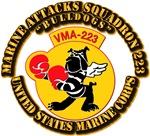 USMC - Marine Attacks Squadron 223 with Text