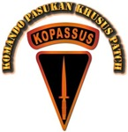 Komando Pasukan Khusus Patch - With Text