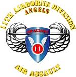 Army - 11th ABN Div -  Air Assault Badge