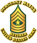 Army - Sergeant Major E-9 - Retired