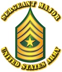 Army - Sergeant Major E-9 w Text
