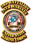 USMC - 3rd Battalion - 24th Marines
