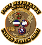 Army -  Installation - Ft McPherson GA