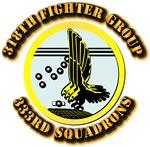 AAC - 318th Fighter Group - 333rd Squadrons