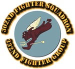 AAC - 302nd Fighter Squadron, 332nd Fighter Group