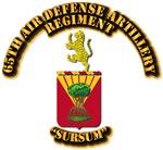 COA - 65th Air Defense Artillery Regiment