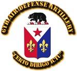 COA - 6th Air Defense Artillery