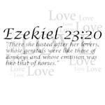 Ezekiel 23:20