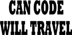 CAN CODE WILL TRAVEL
