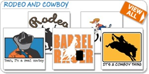 Rodeo and Cowboy T-shirts and Gifts