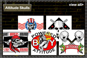 Attitude/Political Skull T-Shirts and Gifts