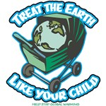 Treat the Earth T-Shirts and Gifts