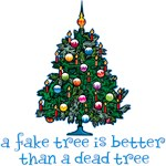 Fake Christmas Tree T-Shirts and Gifts
