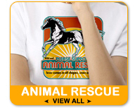 Animal Rescue T-Shirts and Gifts