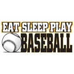 Eat, Sleep, Play Baseball T-Shirts and Gifts