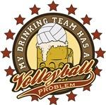 Volleyball Drinking Team