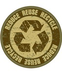 Grunge Reduce, Reuse and Recycle