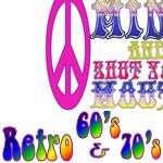 RETRO 60's & & 70's & Hippies
