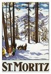 Vintage St. Moritz Skiing