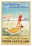 Vintage South Africa Surfing