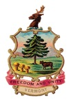 Vermont Vintage Coat of Arms