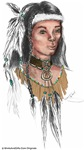 Native American Indian Warrior Art Gifts