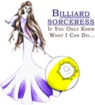 Billiard Sorceress 9 Ball Fantasy, Gifts for Women
