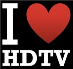 I Love HDTV Dark Tee