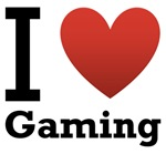 I Love Gaming Light Tee