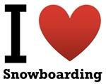 I Love Snowboarding
