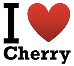 I Love Cherry Light Tee