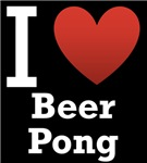 I Love Beer Pong Dark Tee